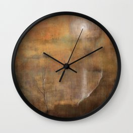 Solitary Consolation Wall Clock
