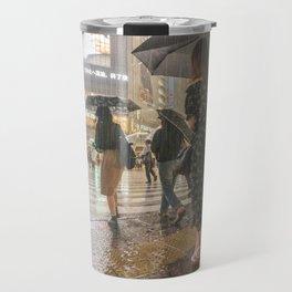 Rain In Shibuya Travel Mug