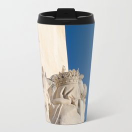 Monument of the Discoveries detail Travel Mug