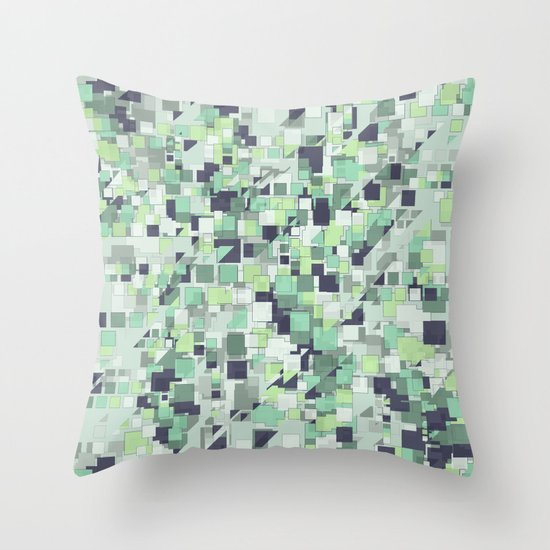 Cubic  Throw Pillow