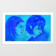 Ship Song Love Art Print