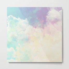 Sundara Dreamy Clouds Metal Print