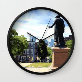 Battle of Bunker Hill, Boston, MA Wall Clock