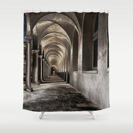 Arched Hallway Shower Curtain