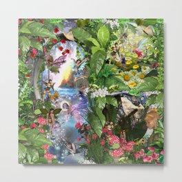 Fairy Kingdom Forest Dreamland Fantasy Stories Metal Print