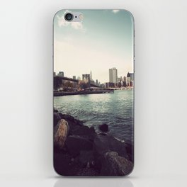 The Calm of the City iPhone Skin