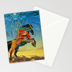 The Wind of Time (Red Horse) Stationery Cards