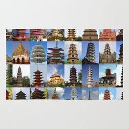 Pagodas Montage Rug