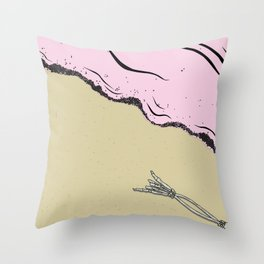 Chilled Death Throw Pillow