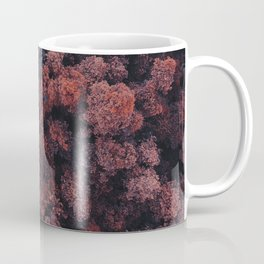 Red Forest | Aerial Photography  Coffee Mug