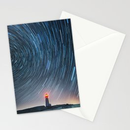 Rotation in the Night Stationery Cards