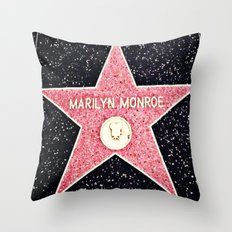 Walk of Fame Throw Pillow