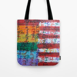 Flags for The Future 28 Tote Bag