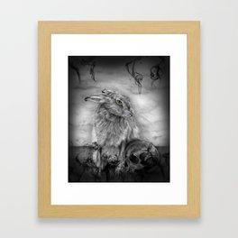 INTO DUST Framed Art Print