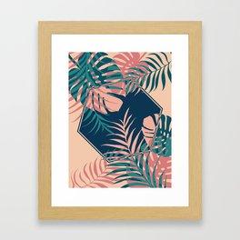 Tropical Dreams #society6 #decor #buyart Framed Art Print