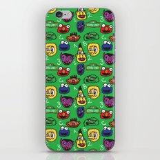 Sesame Street Pattern iPhone & iPod Skin