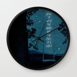 Heart of a Child Wall Clock