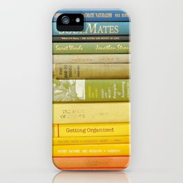 Rainbow Library iPhone Case