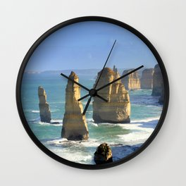 Rock Formations Wall Clock