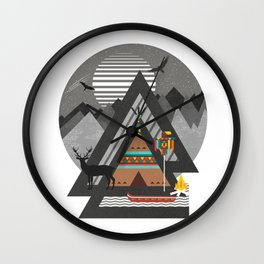 Northwest Passage Wall Clock