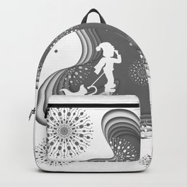 Silent Night 02 Backpack