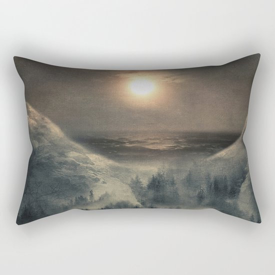 Hope in the moon Rectangular Pillow
