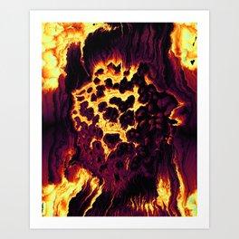 Is It Love, Is It Hate? Art Print