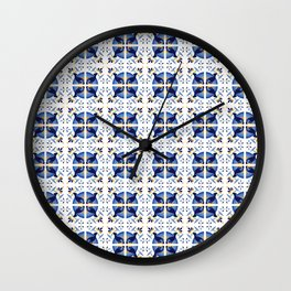 Talavera Manatee Wall Clock