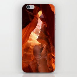 A Canyon Sculptured By Water iPhone Skin