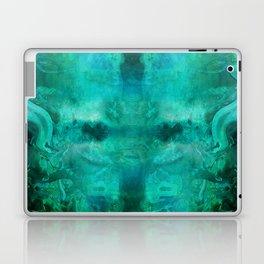 """""""Abstract aquamarine, deep waves"""" Laptop & iPad Skin"""