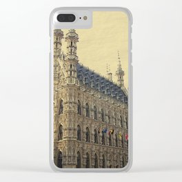 Historical Townhall Clear iPhone Case