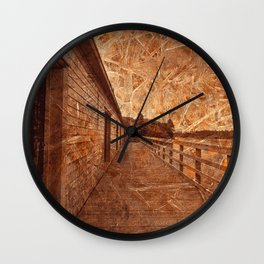 Frozen Summer Dreams Wall Clock