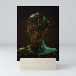 Abstract Portrait IV Mini Art Print