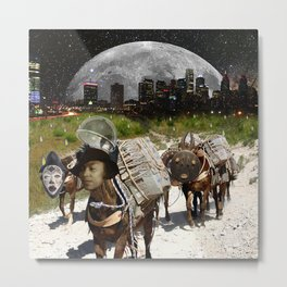 Black Women Are The Mules Of The Earth - Zora Neale Hurston Metal Print