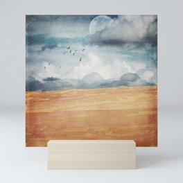 Where Land Meets Sky Mini Art Print