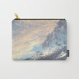 Sunset cloudy sky Carry-All Pouch