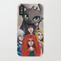 RISE OF THE BRAVE TANGLED DRAGONS Slim Case iPhone X