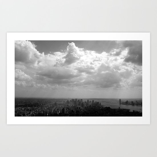 New York City Skycape Art Print