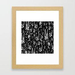 Carnivore B&W II Framed Art Print
