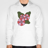 scandinavian Hoodies featuring Scandinavian Garden by She's That Wallflower