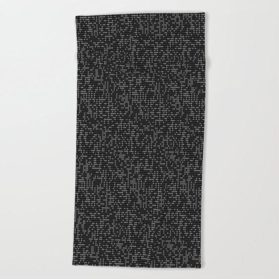 hacker Beach Towel