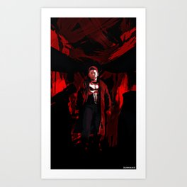 The Punisher is back, angrier than ever. Art Print