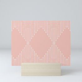 Geo / Blush Mini Art Print