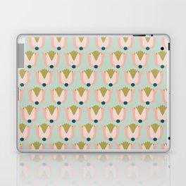 Scandi Tulip pattern Laptop & iPad Skin