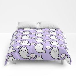 Cutie Bunny Ghost 02 Comforters