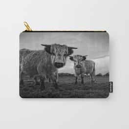 Two Shaggy Cows Carry-All Pouch