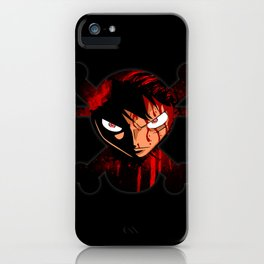 BLOODY LUFFY iPhone Case