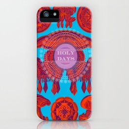 Holydays iPhone Case