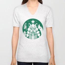 Starfox Coffee Unisex V-Neck
