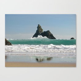 BroadHaven South Beach.Pembrokeshire.Wales. Canvas Print
